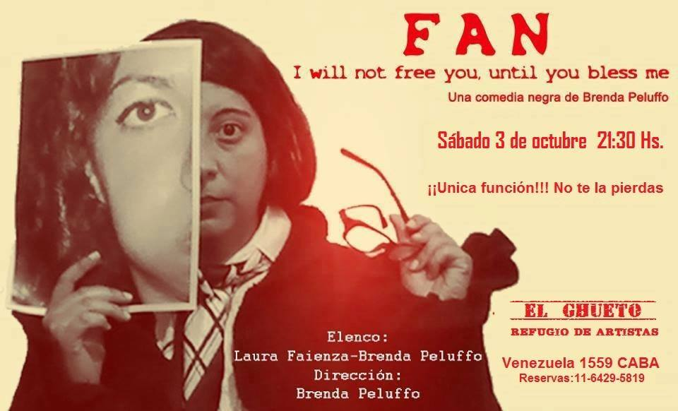 FAN: I will not free you until you bless me